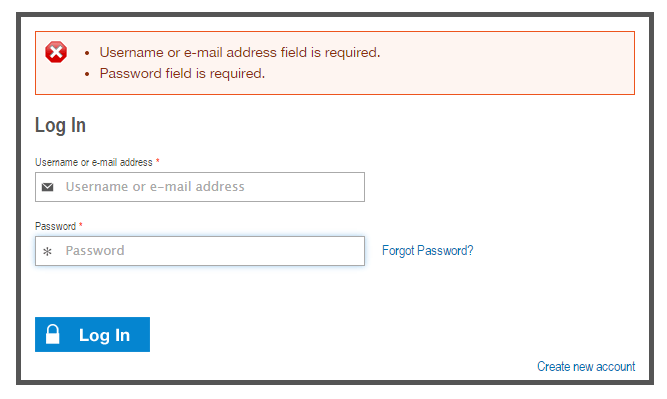 Improve Drupal login page form